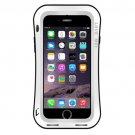 For iPhone 7 White LOVE MEI Dustproof Shockproof Anti-slip Metal Case
