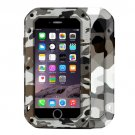 For iPhone 7 Desert LOVE MEI Dustproof Shockproof Anti-slip Metal Case
