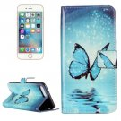 For iPhone 7 Plus Butterfly Flip Leather Case with Holder & Card Slots & Wallet
