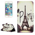 For iPhone 7 Plus Paris Flip Leather Case with Holder & Card Slots & Wallet