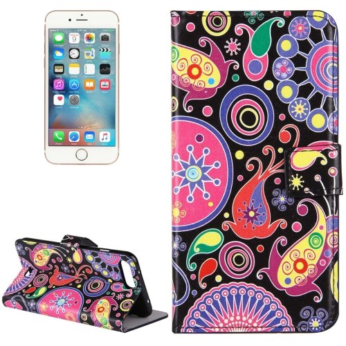 For iPhone 7 Plus Acaleph Leather Case with Holder, Card Slots & Wallet