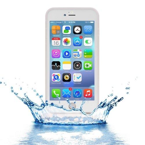 For iPhone 7 Plus Transparent Tridimensional Diamond Waterproof TPU + PC Case
