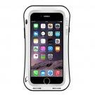 For iPhone 7 Plus White LOVE MEI Dustproof Shockproof Anti-slip Metal Case