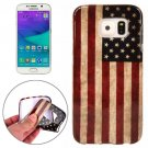 For Galaxy S6 Edge USA Flag Pattern TPU Protective Case