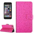For iPhone 6/6s Raindrops Flip Leather Case with Holder & Card Slots - # Colors