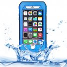 For iPhone 6/6s Blue RIYO IP68 Waterproof Shockproof Dustproof Snowproof Case