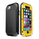 For iPhone 6/6s Love Mei Yellow Metal Ultra-thin Waterproof Dustproof... Case