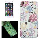 For iPhone 6/6s Graffiti Pattern PC Protective Case with Noctilucent