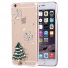For iPhone 6/6s Fevelove Diamond Tree Protective Case Back Cover