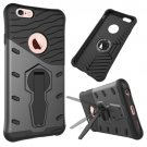 For iPhone 6/6s Rotating Tough Armor TPU+PC Combination Case - # Colors