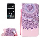 For LG V20 Sunflower PU Leather Case with Holder, Card Slots & Lanyard