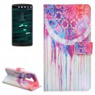 For LG V10 Dreamcatcher Pattern Leather Case with Holder, Card Slots & Wallet