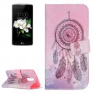 For LG K17 Dreamcatcher 2 Pattern Leather Case with Holder, Card Slots & Wallet