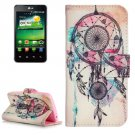 For LG K4 Dreamcatcher Pattern Flip Leather Case with Holder & Card Slots