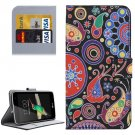 For LG K4 Acaleph Pattern Flip Leather Case with Holder & Card Slots