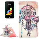 For LG Stylus 2 Dream Catcher Leather Case with Holder, Card Slots & Wallet