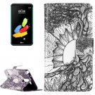 For LG Stylus 2 Tree of Life Flip Leather Case with Holder, Card Slots & Wallet