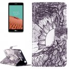 For LG  L Bello II Tree of Life Flip Leather Case with Holder, Card Slots & Wallet