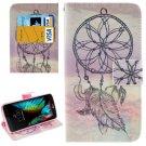 For LG  K10 Windbell Flip Leather Case with Holder, Card Slots & Wallet