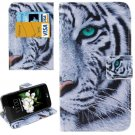 For LG  K7 Tiger Flip Leather Case with Holder, Card Slots & Wallet