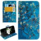 For LG  K7 Flower Flip Leather Case with Holder, Card Slots & Wallet