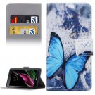For LG  G5 Butterfly Pattern Flip Leather Case with Holder, Card Slots & Wallet