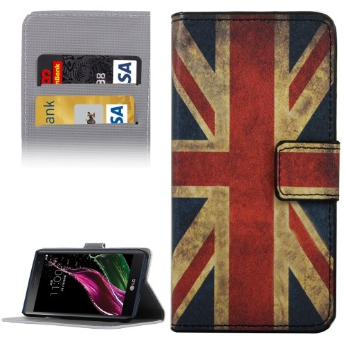 For LG  G5 UK Flag Pattern Flip Leather Case with Holder, Card Slots & Wallet