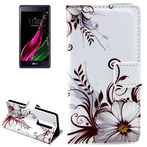 For LG  Class / Zero Buds Flip Leather Case with Holder & Card Slots