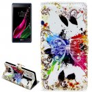 For LG  Class / Zero Butterfly Flip Leather Case with Holder & Card Slots