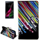 For LG  Class / Zero Stars Flip Leather Case with Holder & Card Slots