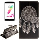 For LG G4 Stylus Windbell 2 Side Leather Case with Holder, Card Slots & Wallet