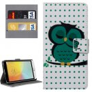 For LG L Bello II Deep Pattern Leather Case with Holder, Card Slots & Wallet