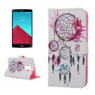 For LG G4 Windbell Diamond Leather Case with Holder, Card Slots & Wallet
