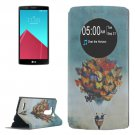 For LG G4 Balloon Pattern Leather Case with Holder & Caller ID Display