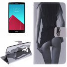 For LG G4 Sexy 2 Side Pattern Leather Case with Holder, Card Slots & Wallet