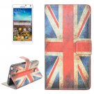 For Galaxy Note 4 UK Flag Pattern Flip Leather Case with Holder & Card Slots