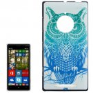 For Lumia 830 Owl Pattern Hard Case