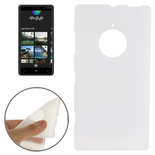 For Lumia 830 White Double Frosted TPU Case