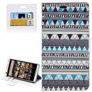 For HTC Desire 626 Aztec Pattern Leather Case with Holder, Card Slots & Wallet