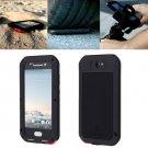 For HTC One A9 Black Love Mei Powerful Dustproof Shockproof Anti-slip Case