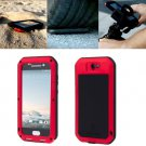 For HTC One A9 Red Love Mei Powerful Dustproof Shockproof Anti-slip Case