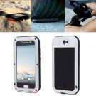 For HTC One A9 Silver Love Mei Powerful Dustproof Shockproof Anti-slip Case