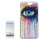 For HTC One A9 Eye Pattern PC Protective Case