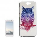 For HTC One A9 Owl Pattern PC Protective Case