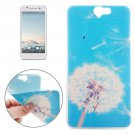 For HTC One A9 Ultrathin Dandelion Pattern Soft TPU Protective Cover Case