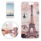 For HTC One A9 Ultrathin Tower Pattern Soft TPU Protective Cover Case