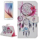 For Galaxy S6 Dreamcatcher Pattern Leather Case with Holder, Card Slots & Wallet