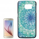 For Galaxy S6 Flower Pattern Hard Case