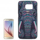 For Galaxy S6 Elephant Pattern Hard Case