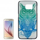 For Galaxy S6 Owl Pattern Hard Case